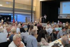 An der Feier nahmen 230 Gäste teil