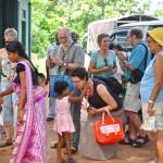 Reisegruppe besucht Hilfsprojekt in Sri Lanka: