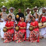 Kandy Tänzer aus Sri Lanka am Universitätsplatz Fulda